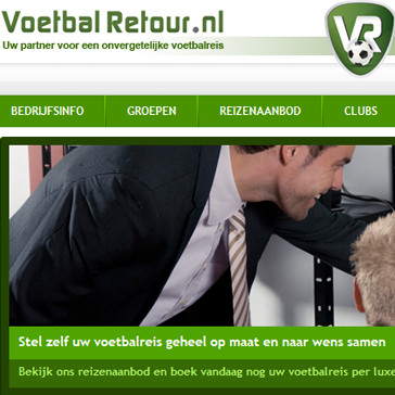 Voetbal Retour Website