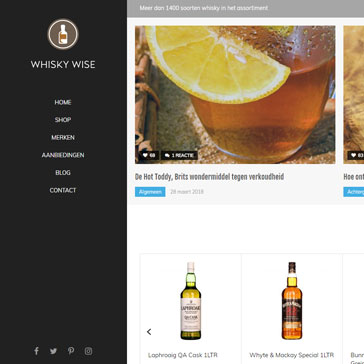 Whisky Wise website